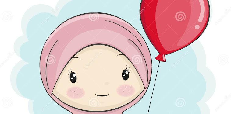 10+ Gambar Kartun Hijab Modern