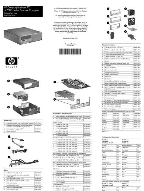 Pdf Download compaq dc7600 manual Kindle Editon PDF