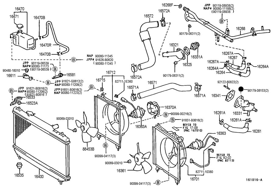 2001 Toyota Camry Radiator ~ Best Toyota