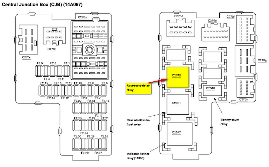 schematics and diagrams: ford 2005 explorer power windows
