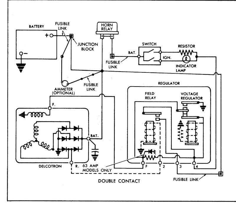 2 Wire Alternator Diagram