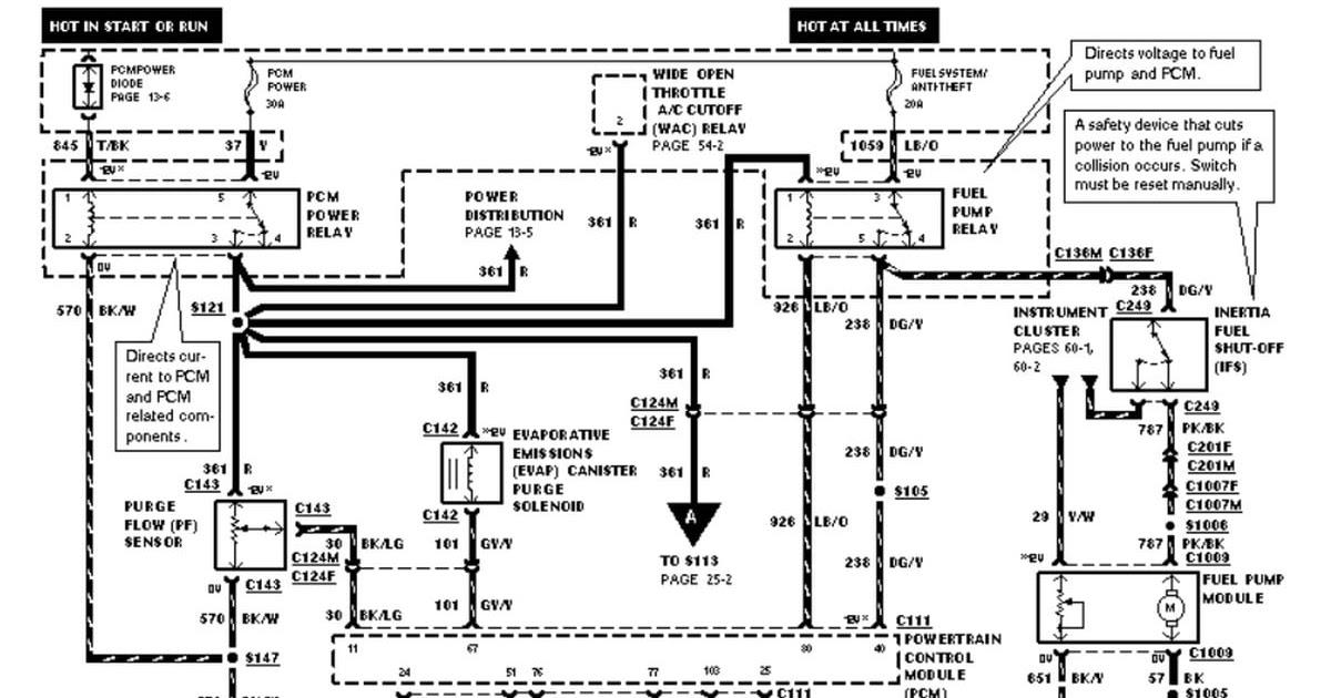 2003 Ford Mustang Radio Wiring Diagram