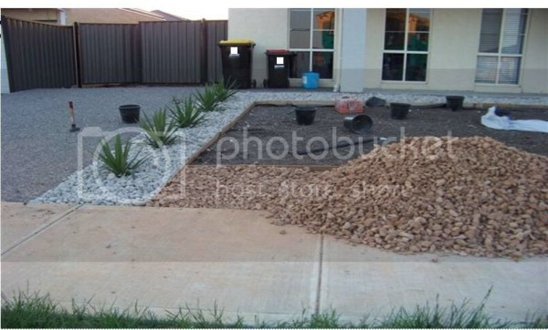 fashion pure front yard landscaping
