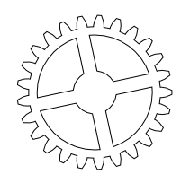 nicu's FOSS'n'stuff: F10 Gears: Drawing the Gears