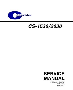 Download Link copystar cs 1530 cs 2030 copier service