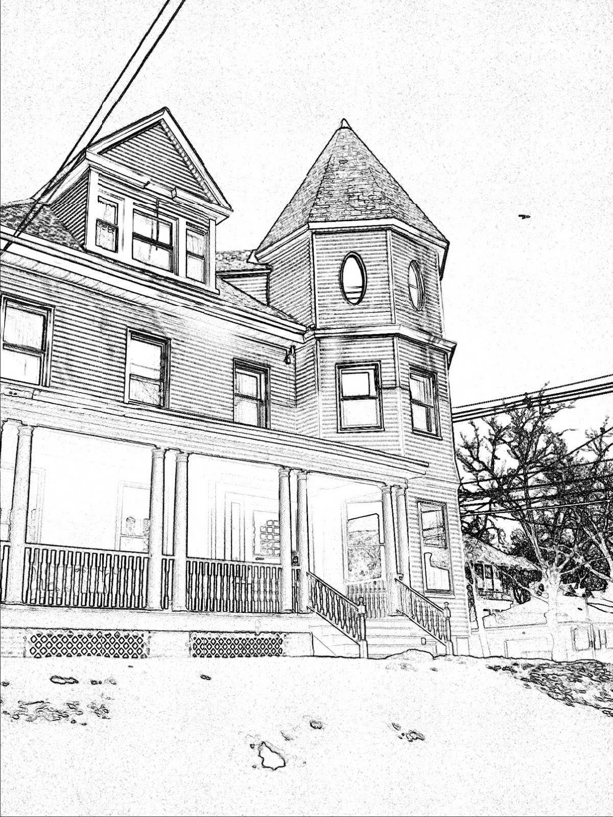 How To Draw A Dream House : dream, house, Beautiful, Dream, House, Drawing, Ideas