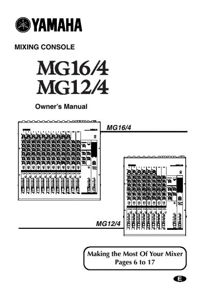 Imelda Story: Mixer Yamaha 5016cfokazii55362832