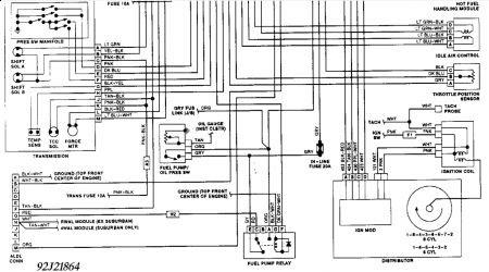 1993 Gm Starter Wiring