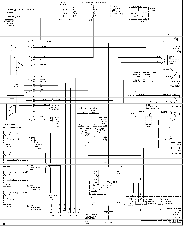 00 Eclipse Fuse Diagram Wiring Schematic