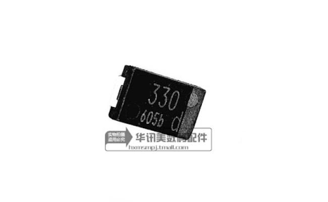 2V N8 dn,SMD Part CAPACITOR 330UF fix MacBook
