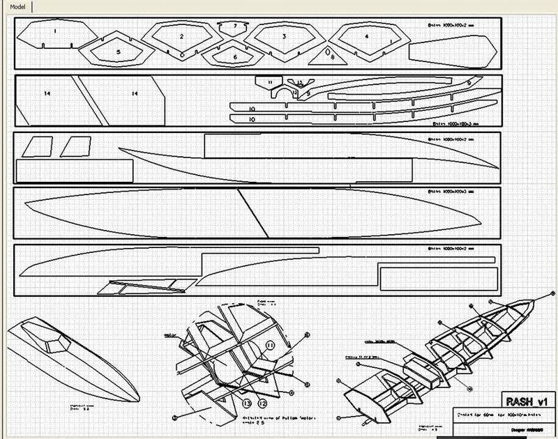 Boat Manual: Rc Boat Deep V Hull Plans