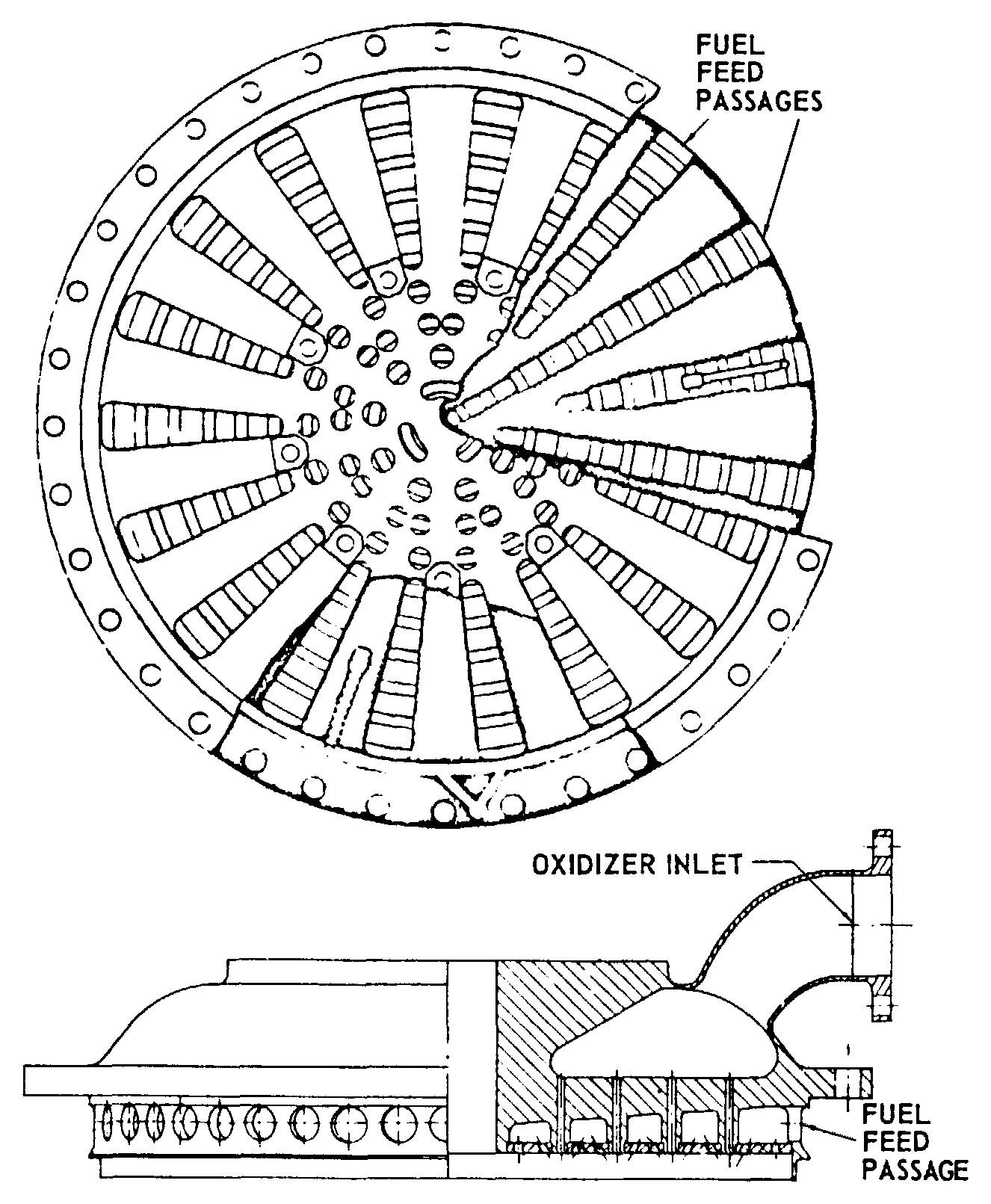 F1 Rocket Engine Schematic