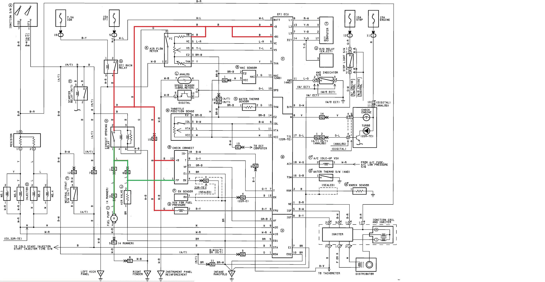 1991 Toyotum Pickup Wiring Diagram