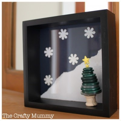 100 Days To Christmas Shadow Box Decorating With The