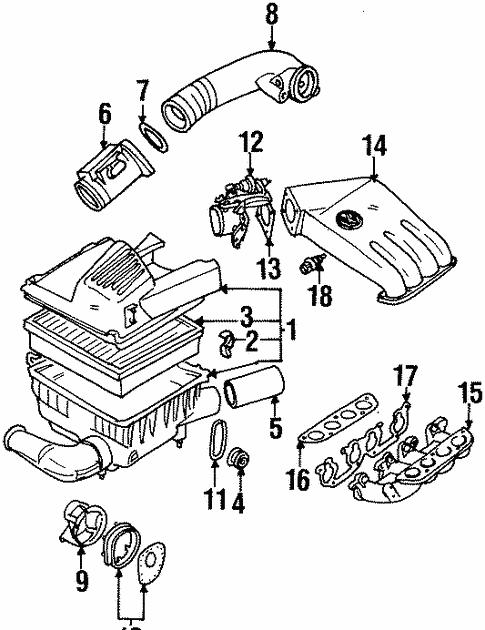 1996 Vw Cabrio Engine Diagram