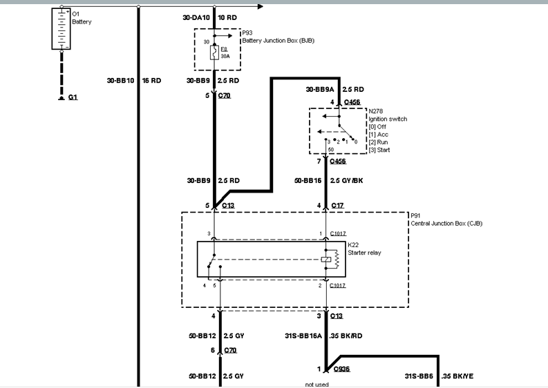 Wiring Diagram: 7 Ford Focus Ignition Switch Diagram