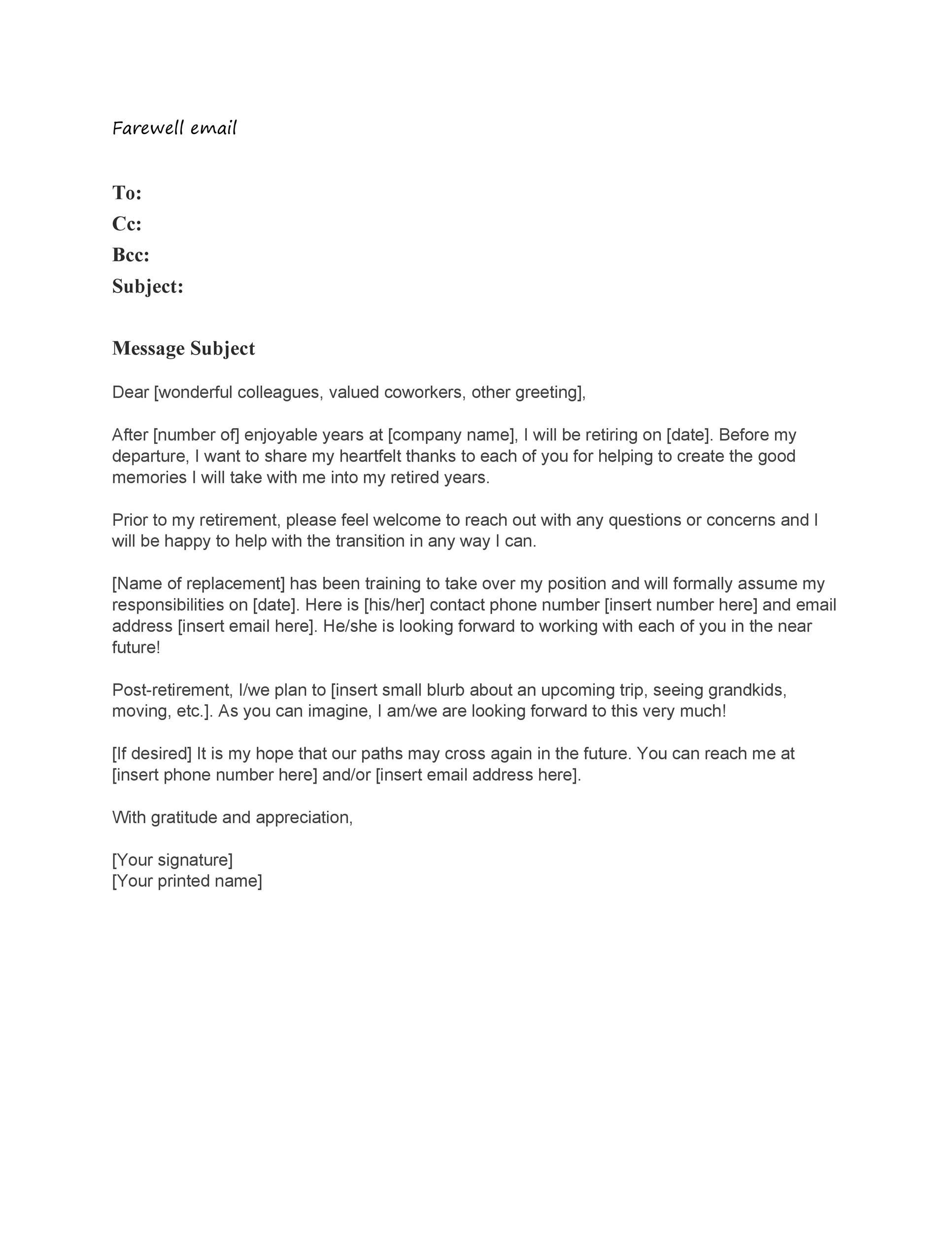 Heartfelt Farewell Letter To Colleagues : heartfelt, farewell, letter, colleagues, Heartfelt, Farewell, Letter, Colleagues