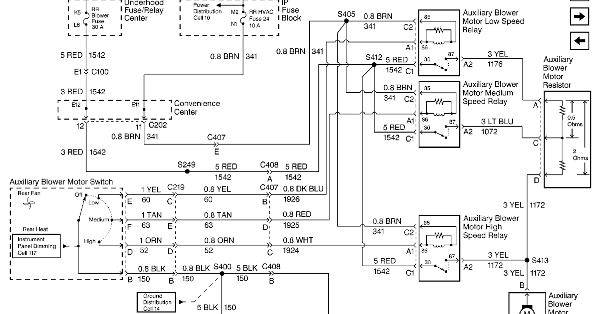 Stereo Wiring Diagram For 2003 Chevy Silverado / 2003