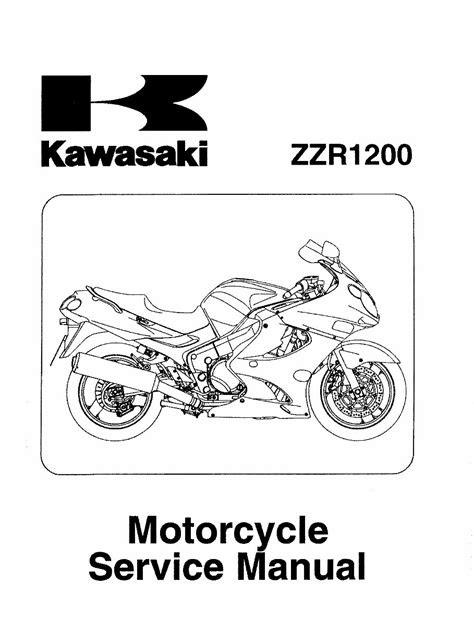 Free Reading kawasaki zzr 1200 motorcycle service repair