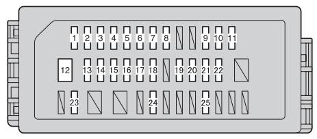 Toyotum Vitz Fuse Box