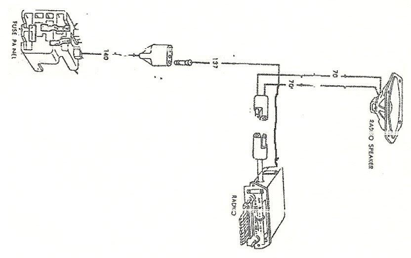 1966 Ford Mustang Radio Wiring Diagram