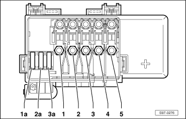 Skoda Superb Fuse Box Layout
