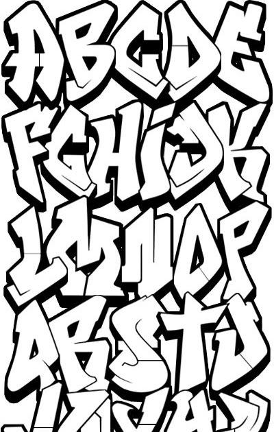Malvorlagen Graffiti Namen
