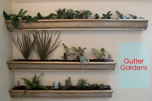 Gutter Garden Ideas Perfect Home And Garden Design