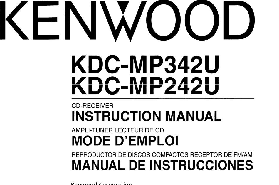Kenwood Kdc-Mp342U Wiring Diagram : Man Vs Junk Episode 25