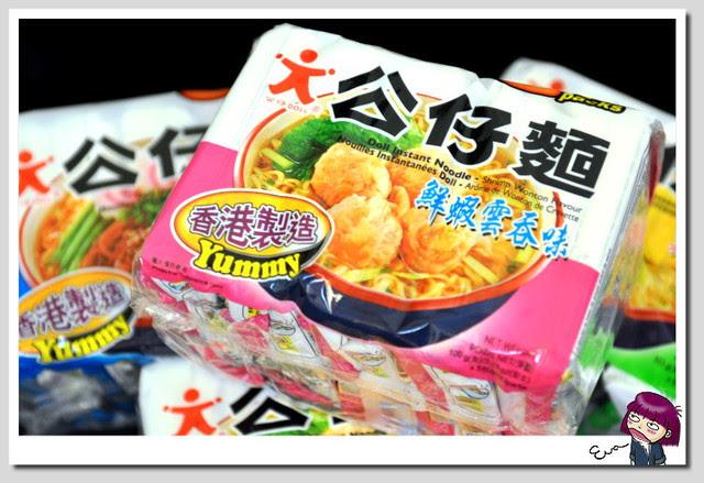【試吃】香港永南食品公仔麵~鮮蝦雲吞味 - 兩光煮婦Eva的走跳日誌
