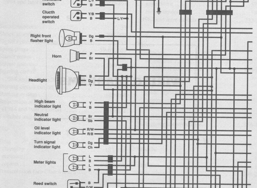Yamaha Xj 650 Maxim Wiring Diagram / 82 Yamaha Maxim Xj650