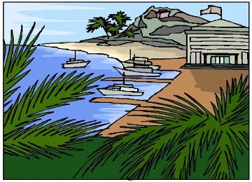 Ausmalbilder Meer Strand Kostenlos - x13 ein Bild zeichnen