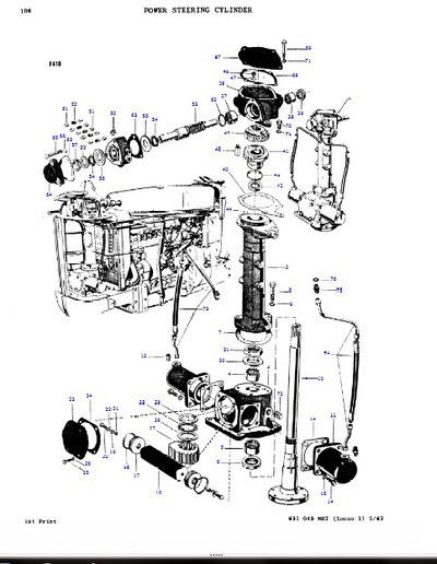 Wiring Diagram: 30 Massey Ferguson Multi Power Diagram