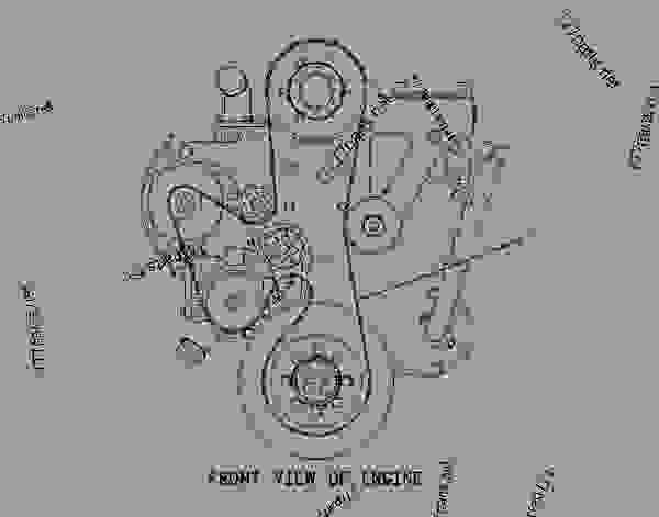 Cat C13 Alternator Belt Diagram