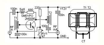 Radio Frequency Amplifier: 4W HF Bands QRP RF Linear Amplifier