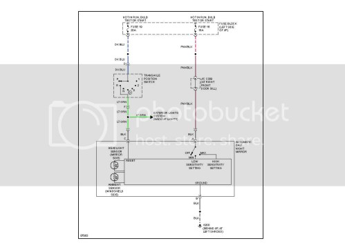 small resolution of auto dimming mirror wiring kit