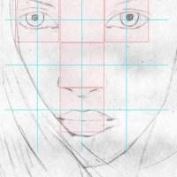 Gesichter Zeichnen Lernen Schritt Für Schritt   Vorlagen ...