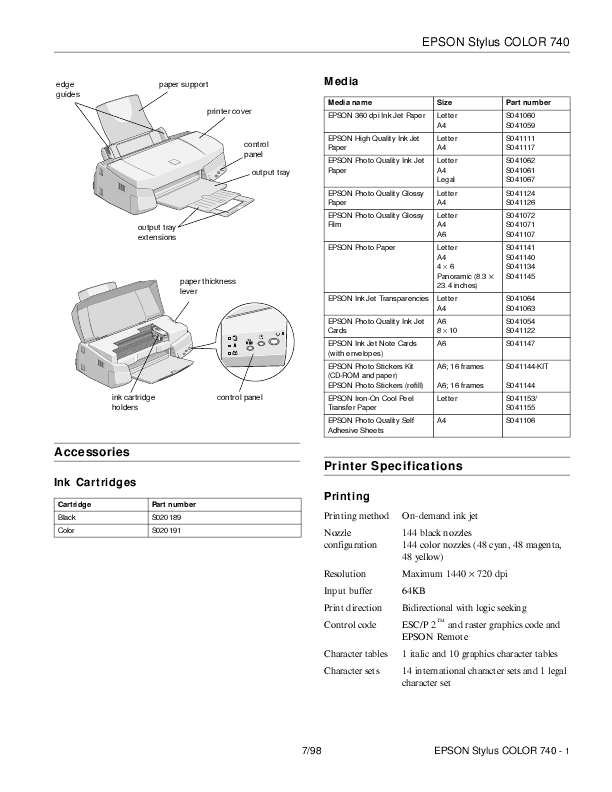 Windows and Android Free Downloads : Epson Fx 2175 Printer