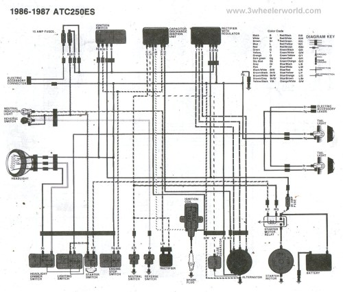 small resolution of honda 350 e wiring diagram
