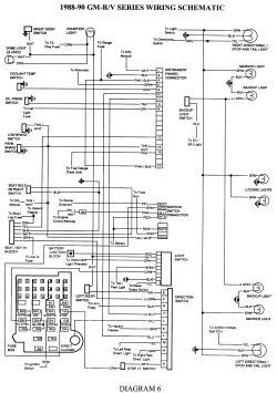 Wiring Diagram: 6 1999 Chevy Suburban Parts Diagram