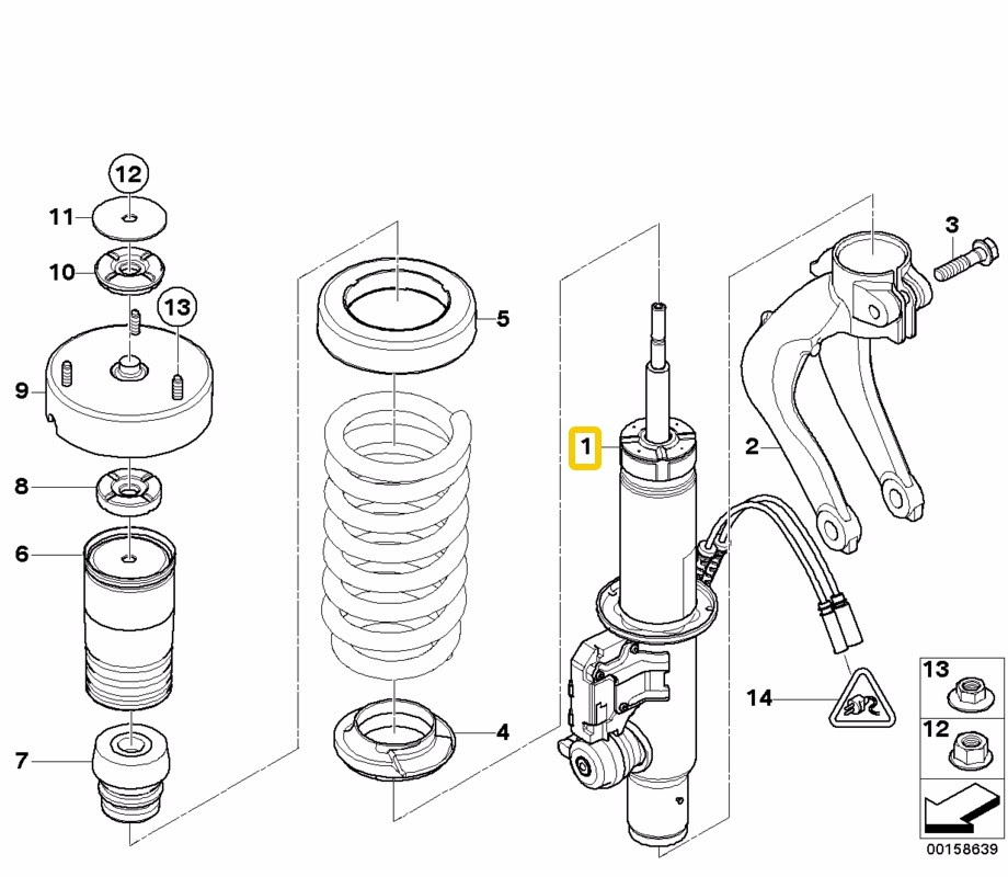 Bmw X5 E70 Parts Diagram