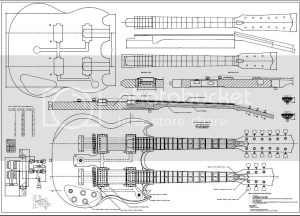 Printable acoustic guitar plans Info | Tarman