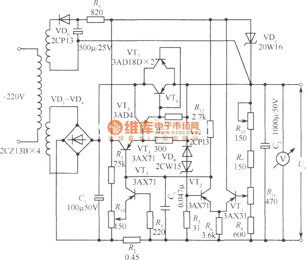 Block Diagram Of Regulated Power Supply ~ DIAGRAM