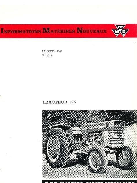 Free Read massey ferguson workshop manual free download