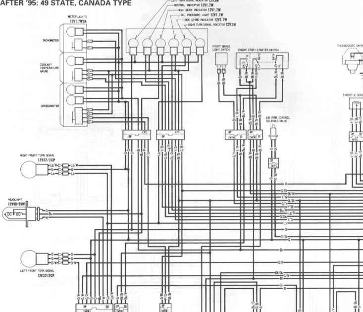 1989 Cbr 600 Wiring Diagram
