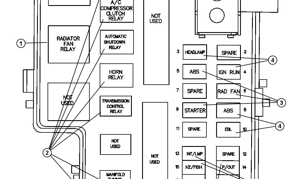 1992 Dodge Dakota Fuse Box Diagram : Mazda 626 1987 1992