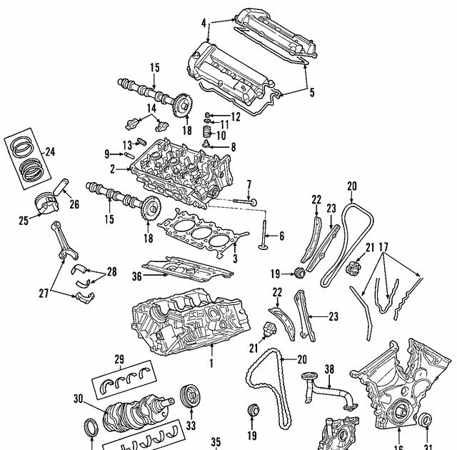 2005 Mercury Mariner Engine Diagram