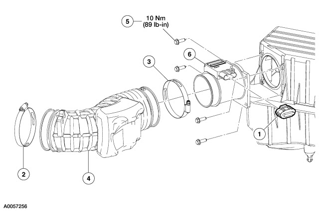 schematics and diagrams: Maf sensor diagram for a 2003