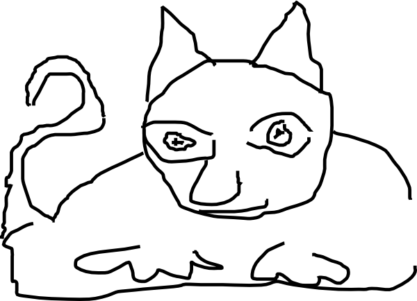 Emo Wb: Clip Art Line Drawings
