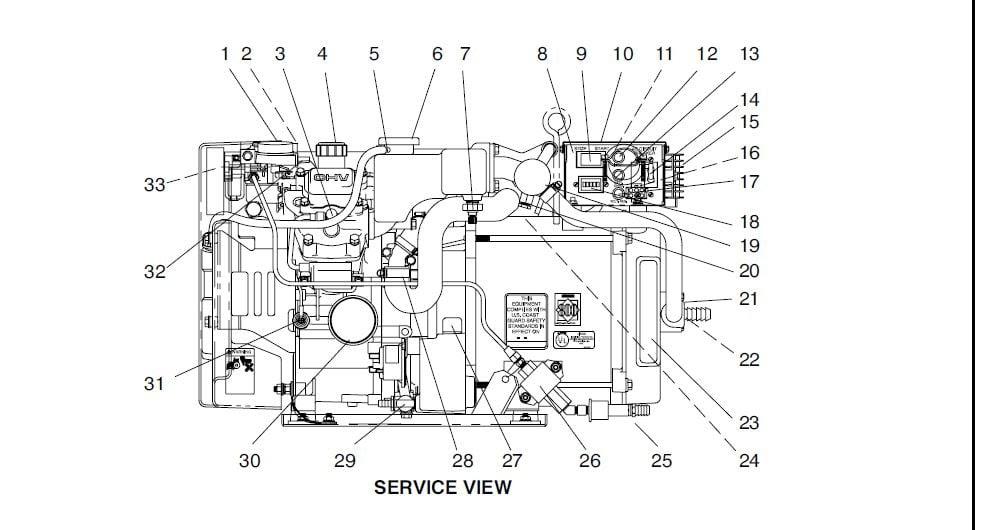 Wiring Diagram: 28 Kohler Marine Generator Parts Diagram